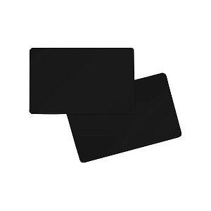 Tarjeta color Negro. Grosor 0,76 mm Pack de 100 tarjetas