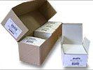 Tarjetas Blancas. 0,76 mm.   Caja de 500 uds.