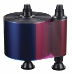 Evolis QUANTUM Cinta Color 6 Paneles-YMCKOK 800 tarjetas/rollo
