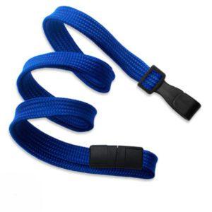 Cordon Plano Azul Marino 10 mm. Pinza