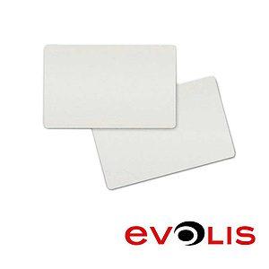 EVOLIS Tarjeta blanca cartulina 0,25mm Pack 100