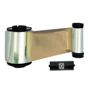 QUALICA-RD5000 Cinta ORO metalizado monocromo<br>3000 imp.