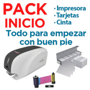 Pack Qualica RD-301 + Tarjetas + Cinta Color